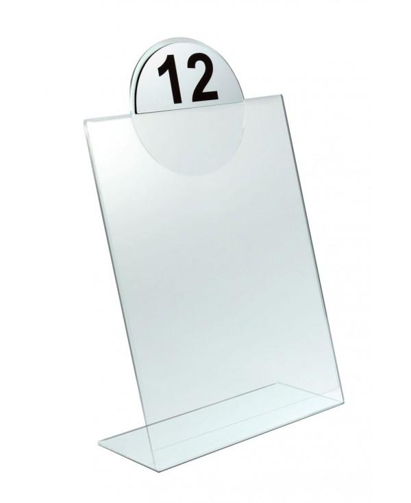 Stojak na menu A4 z logo