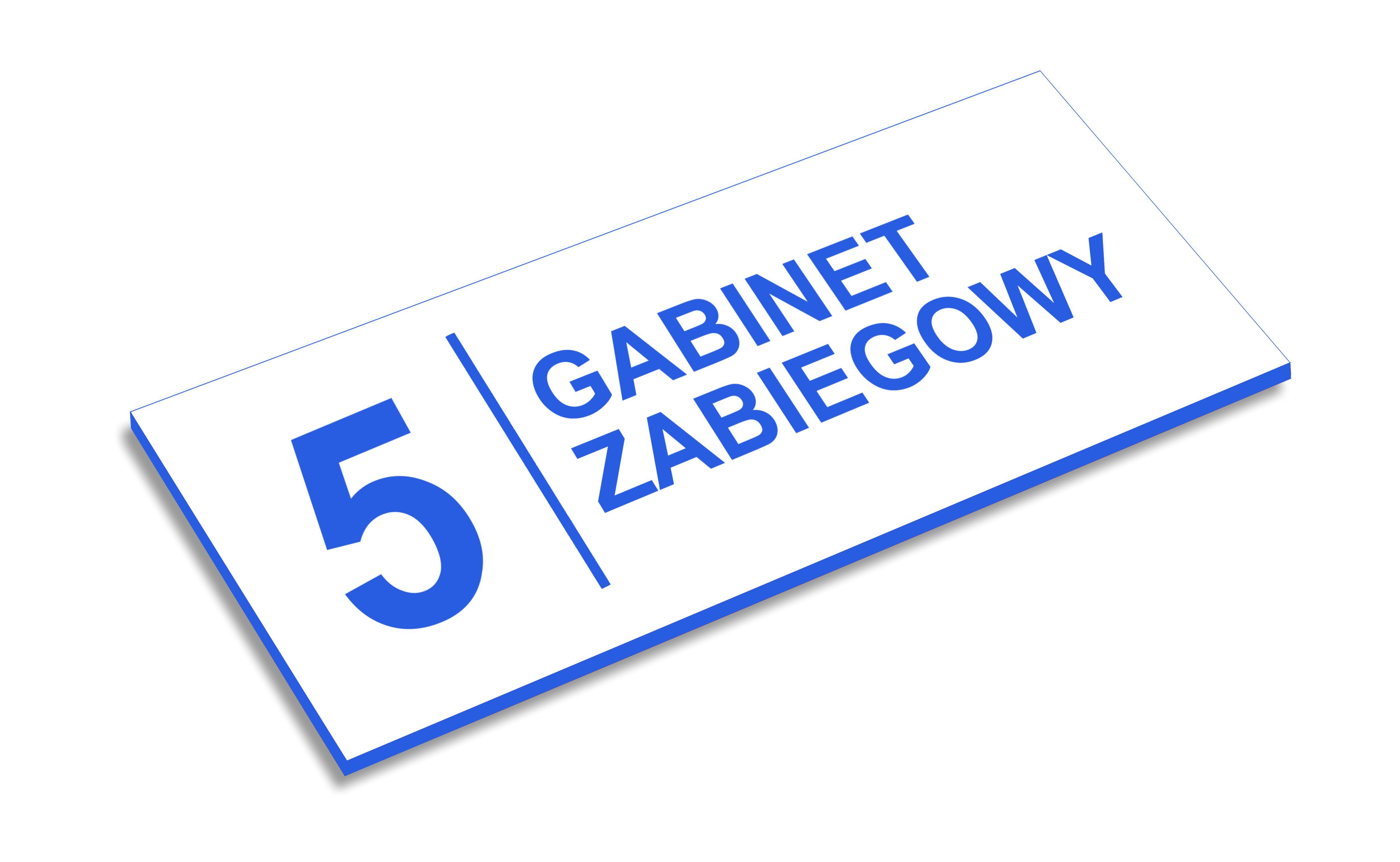 Tabliczki na drzwi Kraków