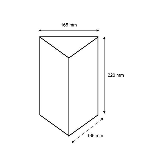 Stojak na menu trójkąt A5