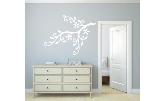 Naklejki ścienne sposobem na prostą i szybką zmianę dekoracji twojego mieszkania.